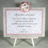 Targhetta con scarpette versione rosa - regalo bomboniera madrina padrino Battesimo