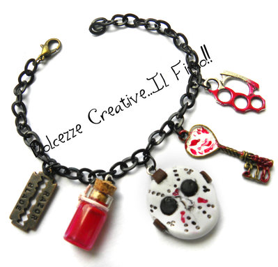 Bracciale Horror - goth - Dark - Jason Voorhees