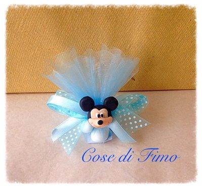 Bomboniera mickey mouse nascita comunione o compleanno