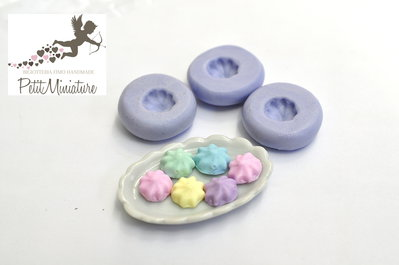 Panna montata cupcake stampo 3D Silicone flessibile Mold panna montata in miniatura Kawaii dolci Mold Fimo gioielli Charms ST196