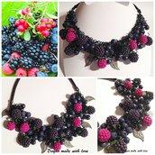 Collana Frutti di bosco