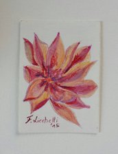 Aceo n. 20 - floreale