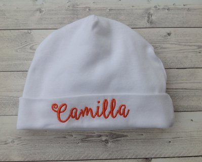 scaricare la consegna comprare reale ultima moda Set Scarpine e Cappellino Farfalla personalizzati con nome - Bimba 3-6 mesi