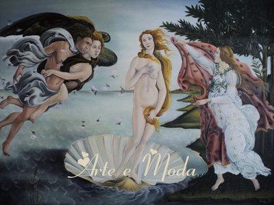 """""""La nascita di Venere"""" di Botticelli (copia)"""