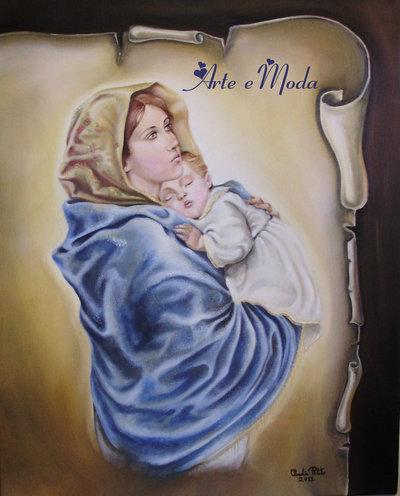 """""""Madonna con il bambino"""" (copia)"""