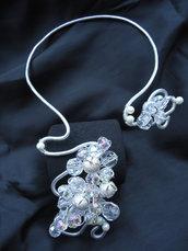 Collana Wire Cristal