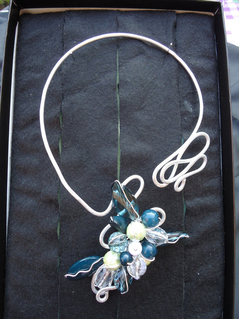 Collana Wire Lady Green
