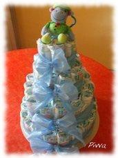 Torta pannolini - diaper cake