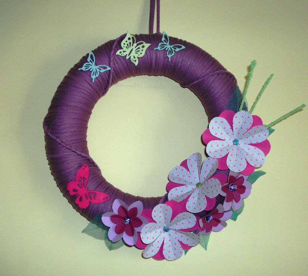 Ghirlanda Decorativa Fuoriporta o da Parete - Tender Flowers^^