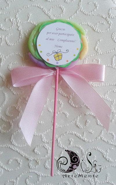 Favors Lecca Lecca Gadget Compleanno Bambini Feste Bomboniere