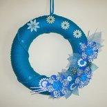 Ghirlanda Decorativa Fuoriporta o da Parete - Night Flowers^^