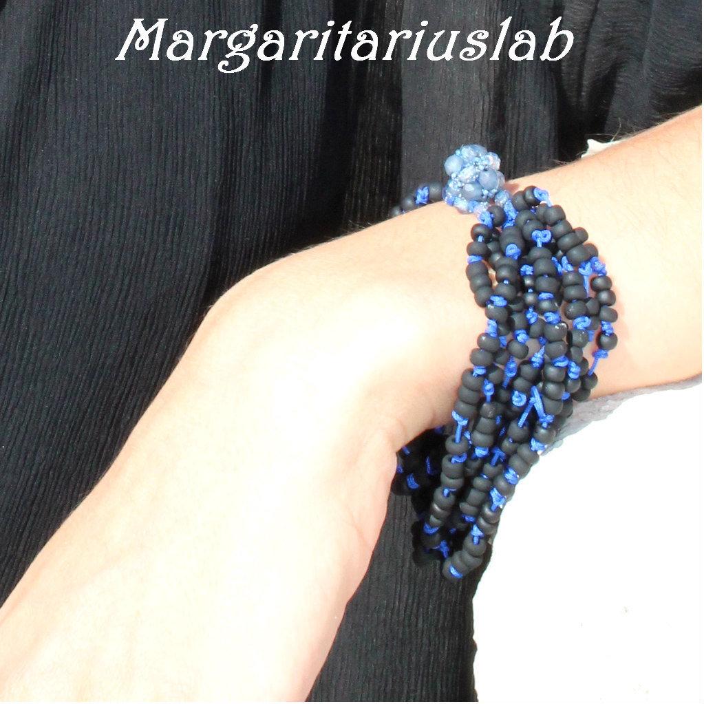 Bracciale Giudecca Nero-Blu