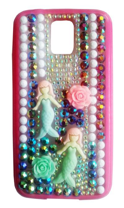 Cover Sirene Multicolor Samsung Galaxy S5 i9600 PEZZO UNICO!