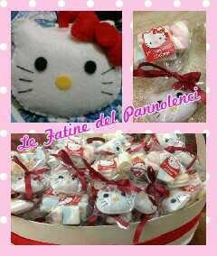 Hello Kitty in pannolenci