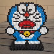 action figure doraemon-hama beads