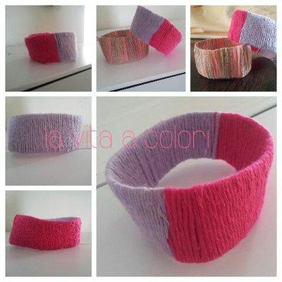 braccialetto ecologico in cotone