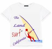 T-shirt manica corta surf