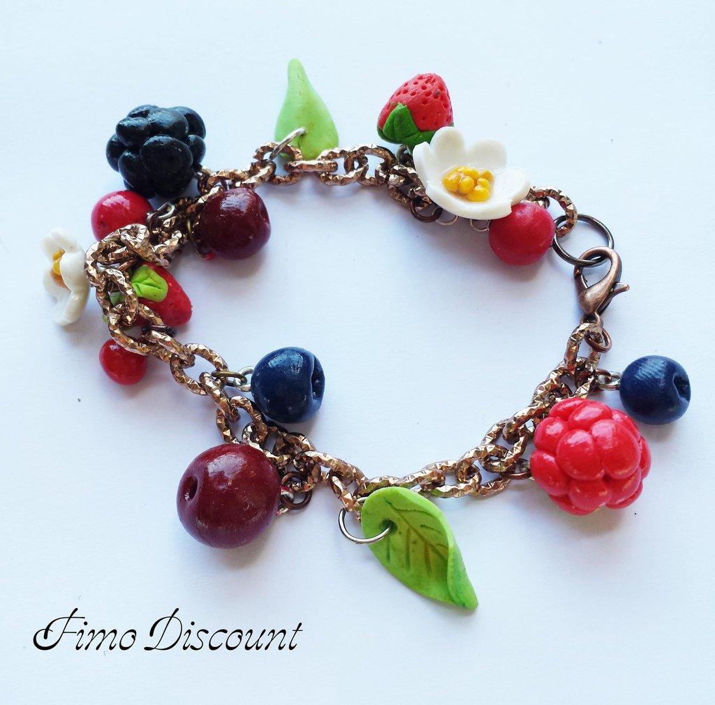 Bracciale Frutti di Bosco
