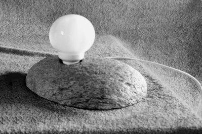 Coppia di Abat-Jour di pietra UNICI - Provenienza geografica 46.361773, 10.355451