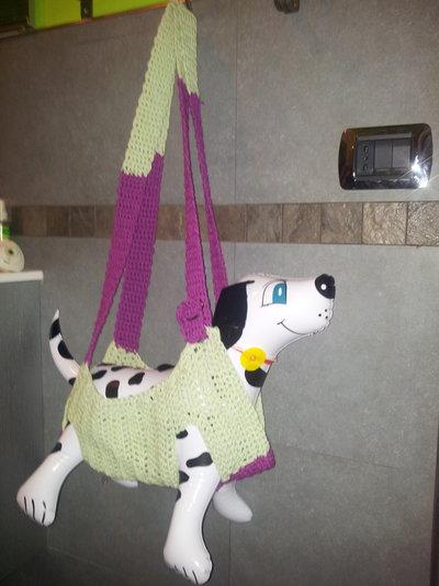 tracolla marsupio crochet