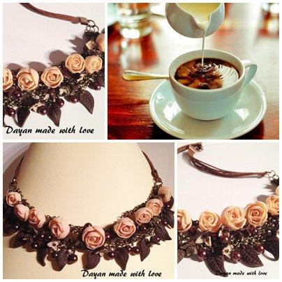 Collana Caffè e Latte
