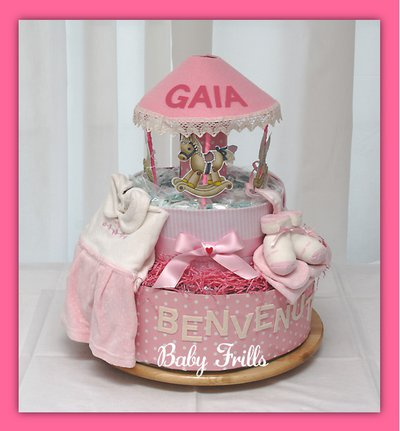 "Torta pannolini "" Giostra"""
