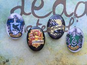 "Lotto 4 cabochon ""Harry Potter"" mod.007"