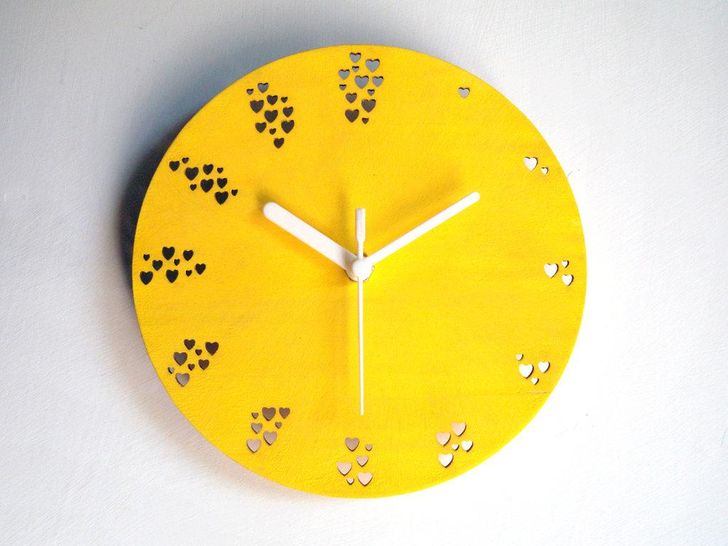 Troghy, orologio da parete per l'amore a tutte le ore