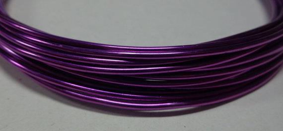 6 metri Filo Alluminio colore VIOLA 1.5 mm.