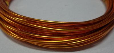 6 metri Filo Alluminio colore GIRASOLE 1.5 mm.