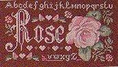 Sampler Rose - Isabelle Vautier