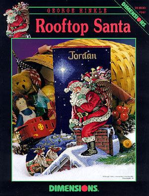 Rooftop Santa - Babbo Natale sul tetto - Dimensions