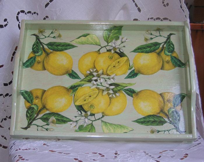 Vassoio Limoni