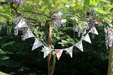 Bandierine (Bunting), per decorare e arredare