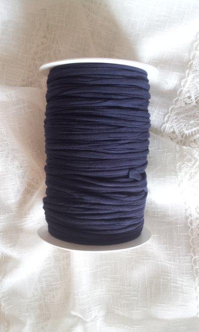 Fettuccia cotone  blu/viola