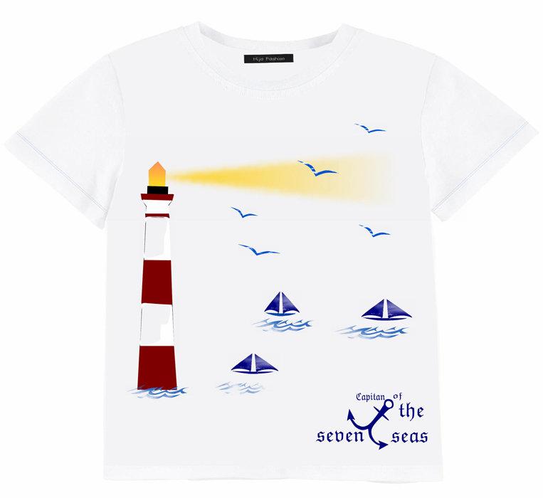 T-shirt manica corta faro