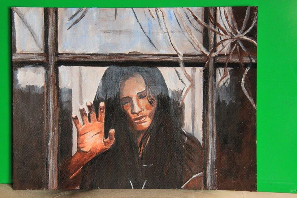 Ragazza alla finestra per la casa e per te produzioni artistich su misshobby - Ragazza alla finestra ...