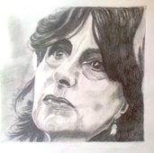 nannarella ritratto a matita