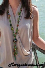Collana Spring verde