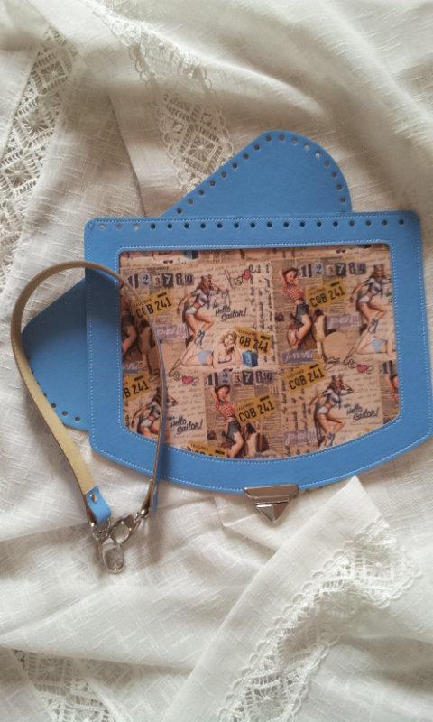 kit per realizzare borse in fettuccia ,cordino, intreccio