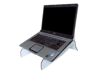 """Gusu, doppio supporto per laptop fino a 17,3"""": raffreddamento e display stand airdesk"""