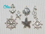 set 7 charms marinari