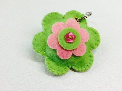 Portachiavi panno fiore