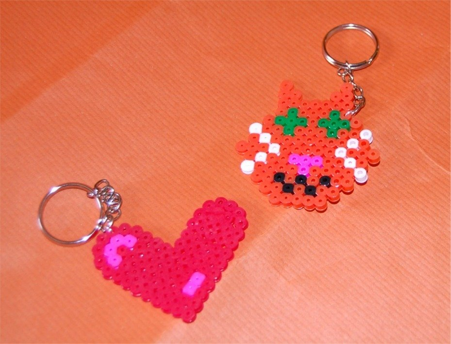 Portachiavi hama beads