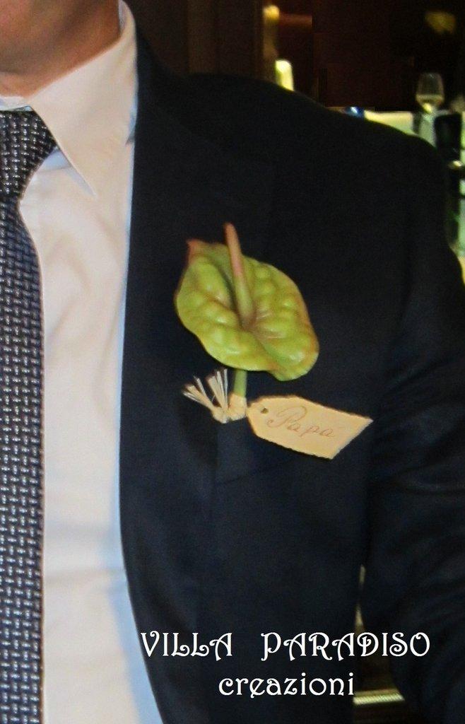 Anthurium, segnaposto, bomboniera o in composizione floreale