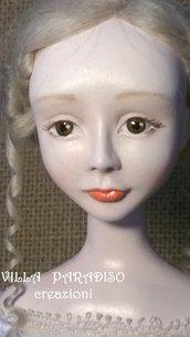 Chiara, la ragazzina toscana, OOAK bambola