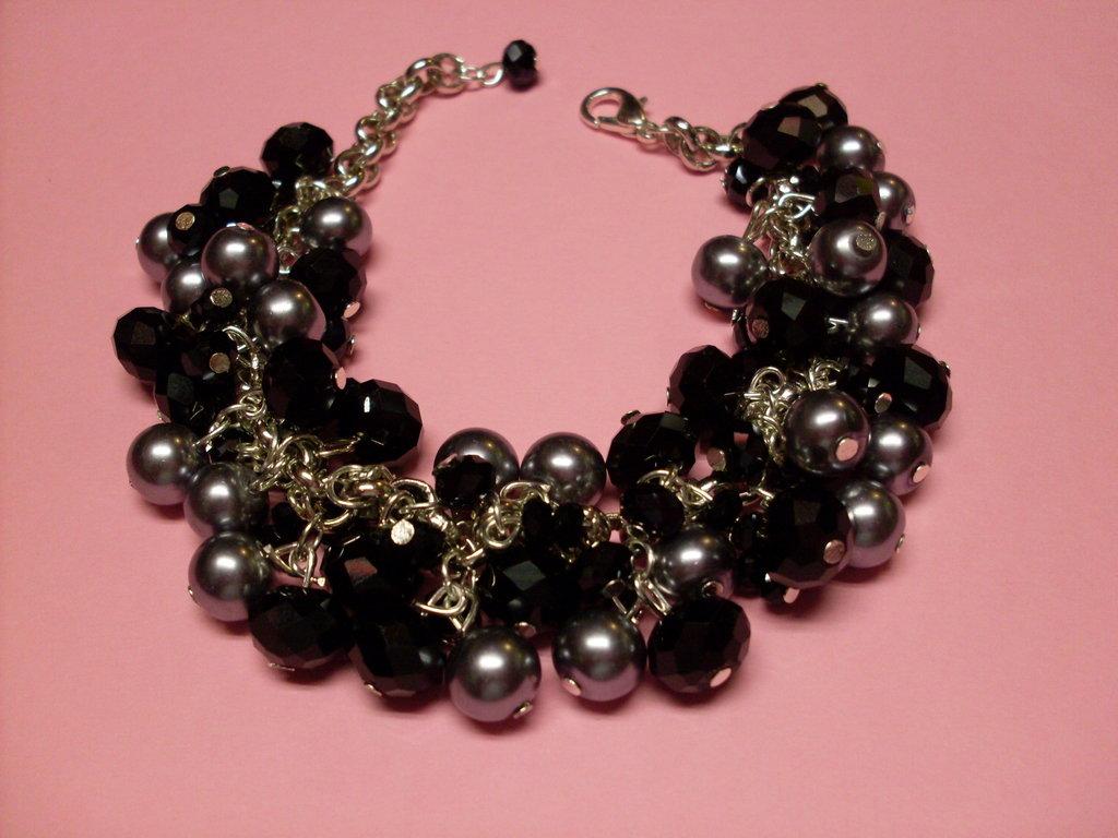 Bracciale Perle e Vetro AN