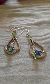 Orecchini argento pendente