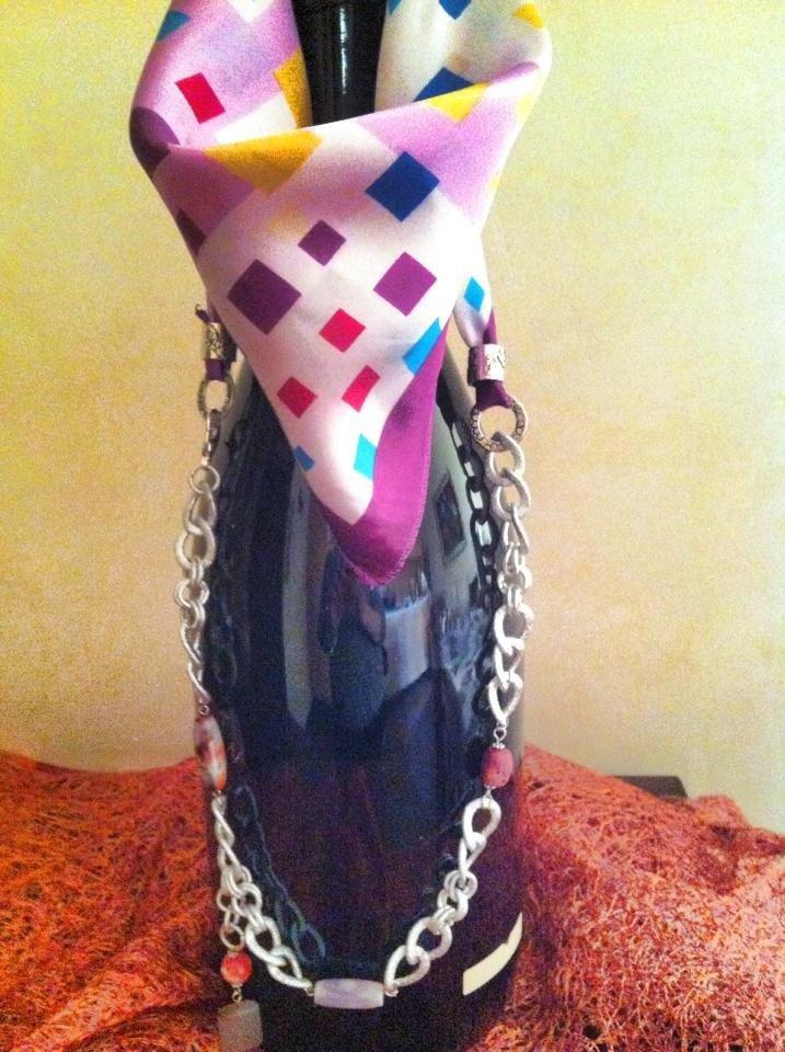 Graziosi foulard gioiello