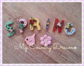 "Bottoni artigianali ""Spring"""